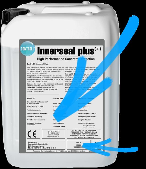 CONTROLL Innerseal Plus Produkt Kanister original