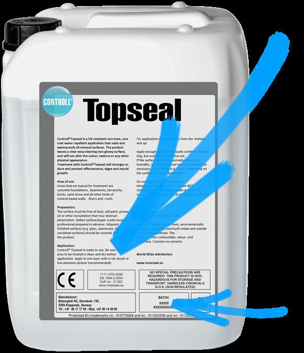 KOMSOL CONTROLL Topseal Produkt Kanister original