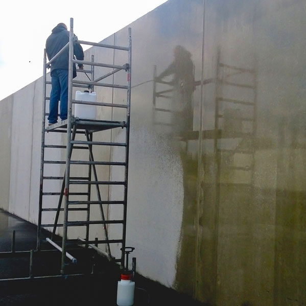 komsol landwirtschaft Aussenbereiche Lagerflächen Futter betonboden schutz versiegeln reinigen Chloride Salze