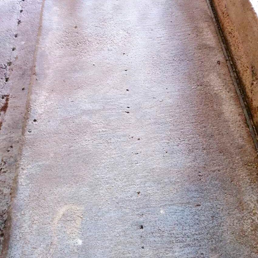 komsol landwirtschaft deepclean reinigen innerseal betonboden stallboden beton versiegeln schuetzen erneuern ph wert 11 13 ammoniak versiegelt