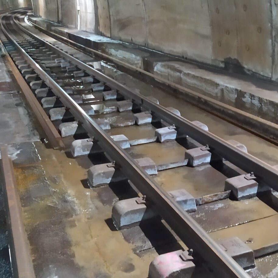 komsol tunnel beton boden decke innerseal versiegelung dauerhaft hochwertige silikate bahn schienen