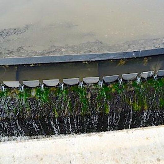 komsol innerseal Abwasser Kanal klaeranlage versiegelt Absetzbecken Abwasserkanal Rand