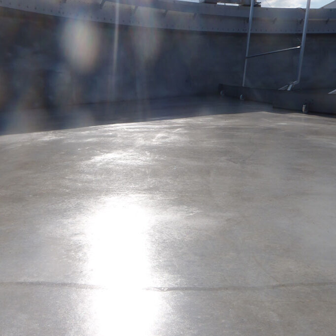 komsol innerseal Abwasser Kanal klaeranlage versiegelt Absetzbecken Abwasserkanal Wartung schuetzen