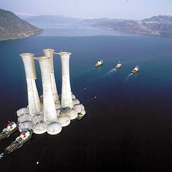 komsol innerseal Oelplattformen Condeep Plattformen Betonflaechen Betonsockel Meer dauerhaft versiegeln Statfjord dekk