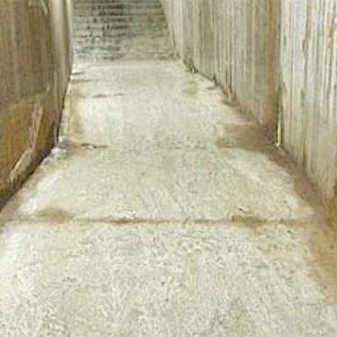 komsol tunnel beton boden decke innerseal versiegelung dauerhaft hochwertige silikate vorher 2