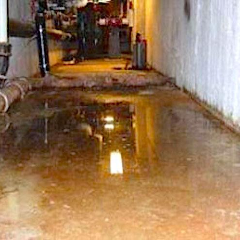 komsol tunnel beton boden decke innerseal versiegelung dauerhaft hochwertige silikate vorher