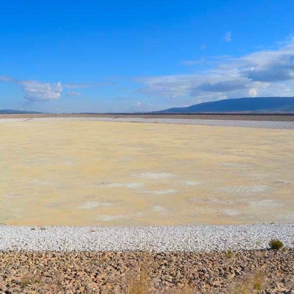 kosmol innerseal Wasser auffangbecken erdbeben landwirtschaft bassin versieglen sand boden