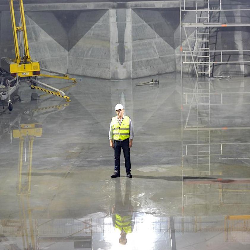 komsol innerseal Abwasser Kanal klaeranlage versiegelt Absetzbecken Abwasserkanal Umsetzung