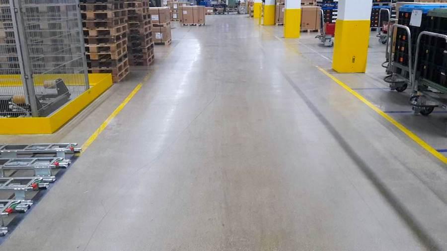Greenline Floor komsol innerseal partner Deutschland Industrieboden Wartung Bodensystem geschliffen