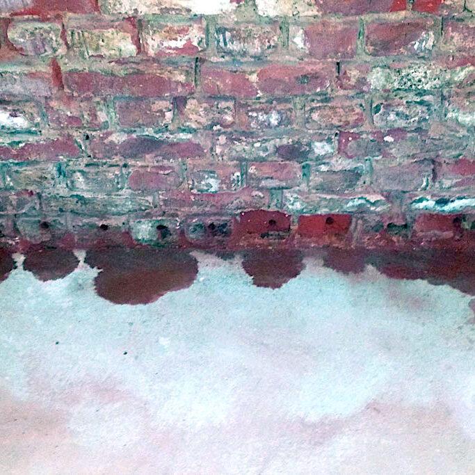Komsol innerseal keller trocknen fundamente versiegeln abdichten Hydrophobieren Feuchtigkeitssanierung frostsicher