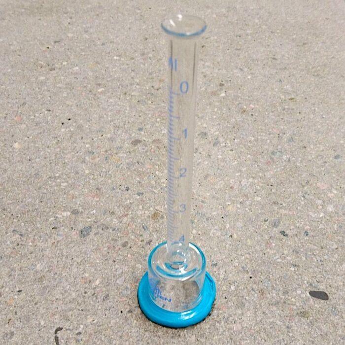 komsol Karsten Pruefung Beton Wassereindringen Karstensches Roehrchen Wassereindringpruefer Wassereindringtest Glocke