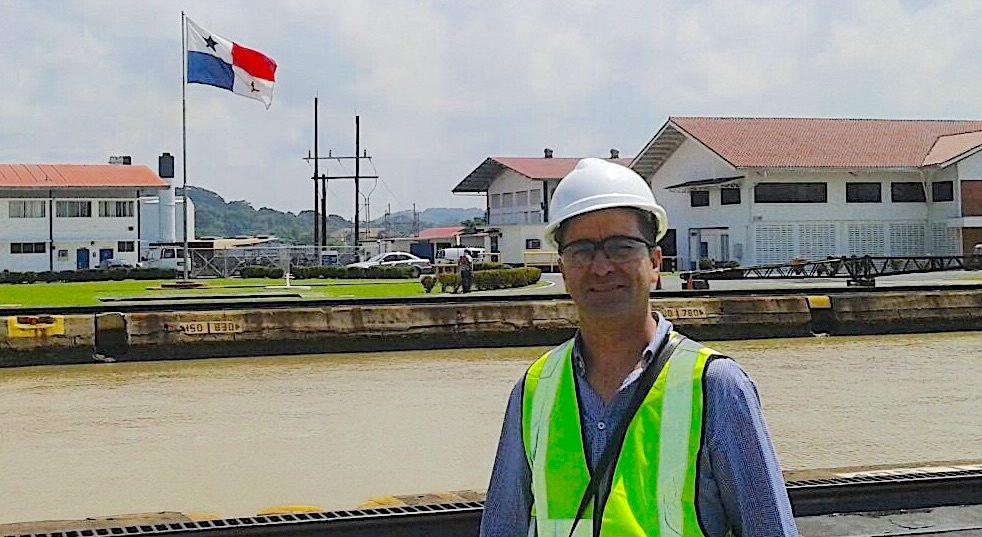 komsol Panamakanal Schleusen Kanaele Schleusenkammern Betonwaende Salzwasser Suesswasser Innerseal Schleusenwaende Kammer Innerseal AC Ksol Latinoamerica Chef