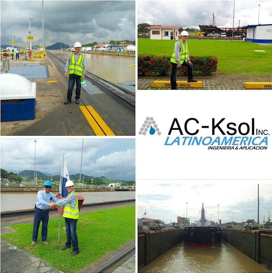 komsol Panamakanal Schleusen Kanaele Schleusenkammern Betonwaende Salzwasser Suesswasser Innerseal Schleusenwaende Kammer Innerseal AC Ksol Latinoamerica Expertise