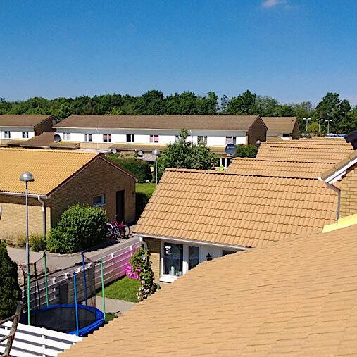komsol innerseal topseal Dach Ziegel Haus schutz versiegeln vorher nachher Anlage