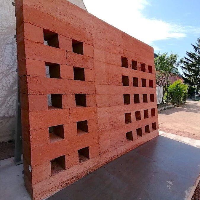komsol innerseal topseal Fassade Haus schutz versiegeln Testwand Test Probe Bemusterung