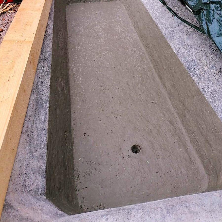 komsol innerseal topseal Fassade Haus schutz versiegeln wannen Brunnen