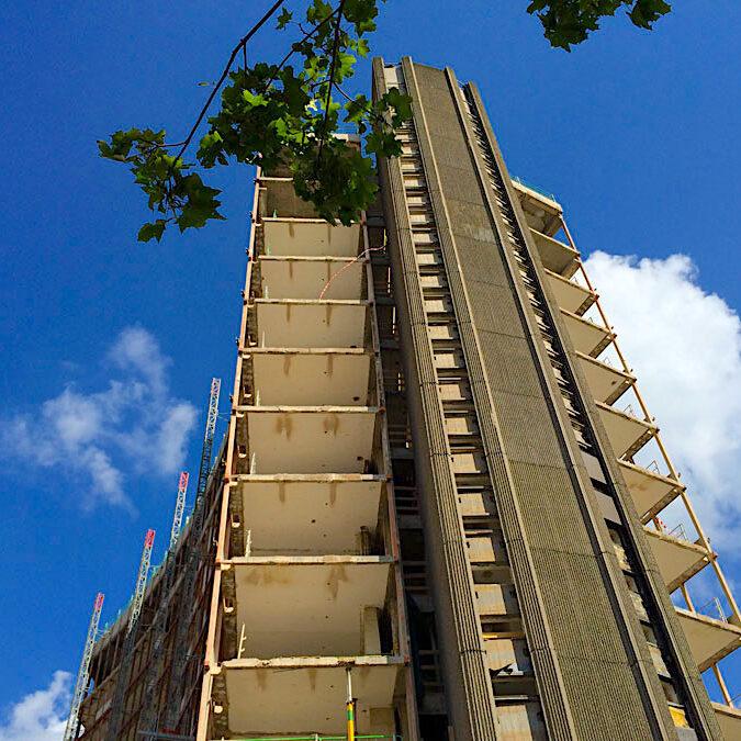 komsol topseal Fassaden Daecher Kalksandstein Beton Ziegel Putz dauerhaft versiegeln Schutz Wasser Chloride Deutschland