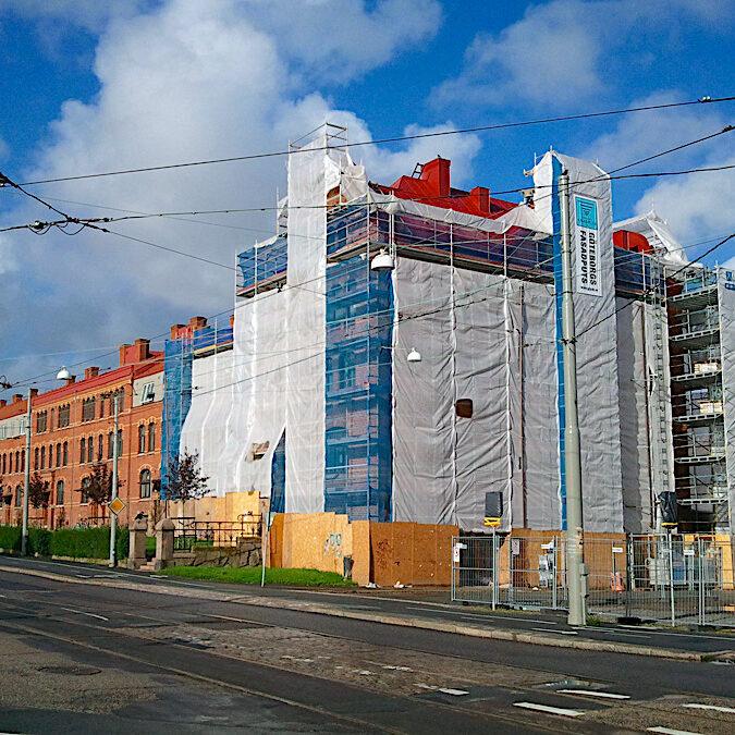 komsol topseal Fassaden Daecher Kalksandstein Beton Ziegel Putz dauerhaft versiegeln Schutz Wasser Chloride Gothenburg SE