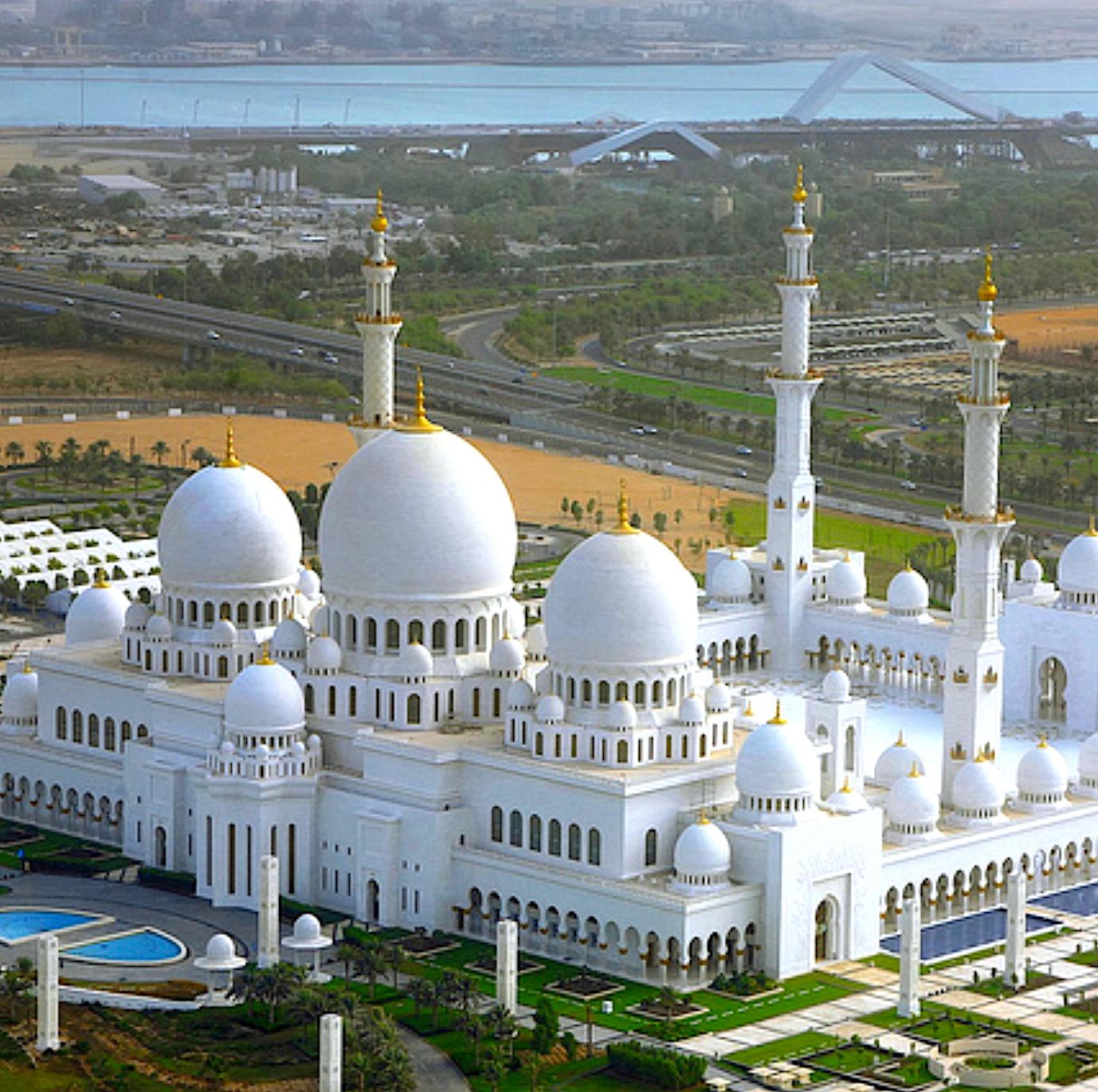 komsol Referenz Sheikh Zayed Grand Mosque Center Abu Dhabi Topseal Innerseal