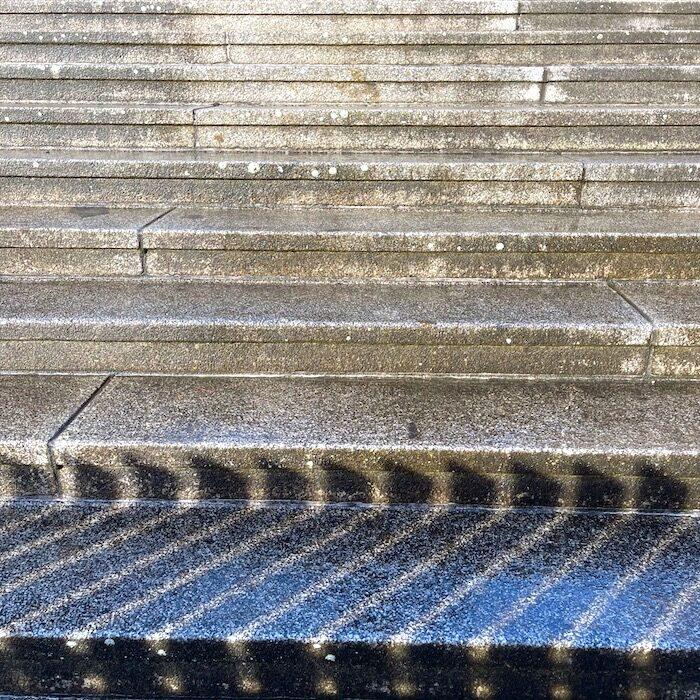 komsol Innerseal Stadion Tribuenen Fußballstadion Betontreppen versiegeln besucher Treppen