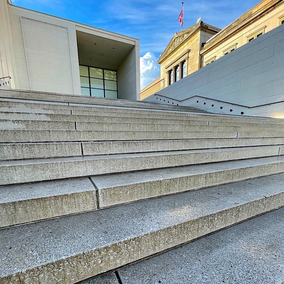 komsol Innerseal Stadion Tribuenen Fußballstadion Betontreppen Sitzflaechen versiegeln besucher Treppen Museum