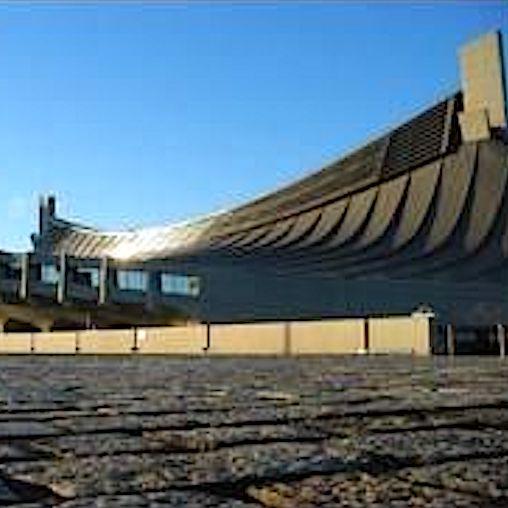 komsol Innerseal Stadion Tribuenen Fußballstadion Betontreppen Sitzflaechen versiegeln besucher Treppen Tokio