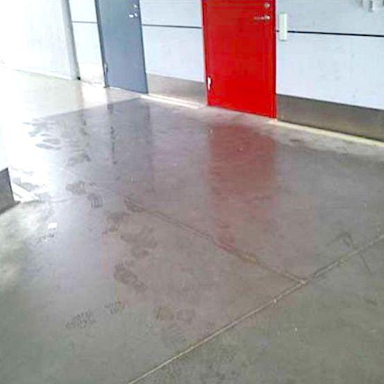 sodertalje komsol Innerseal Stadion Tribuenen Fußballstadion Betontreppen Sitzflaechen versiegeln besucher Treppen